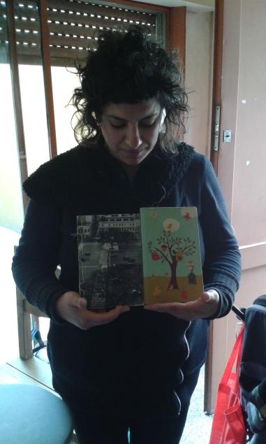 Mavi y sus dos cuadernos. Quiso J.G. Ballard y Artaud.